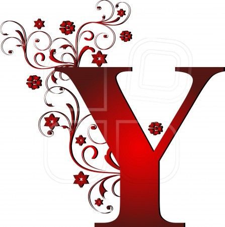 capital letter Y red, abstract, alphabet, alphabetic | The ...