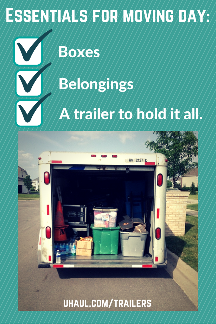 Cargo Utility And Car Trailer Rentals Moving Day Trailer Camping In Illinois