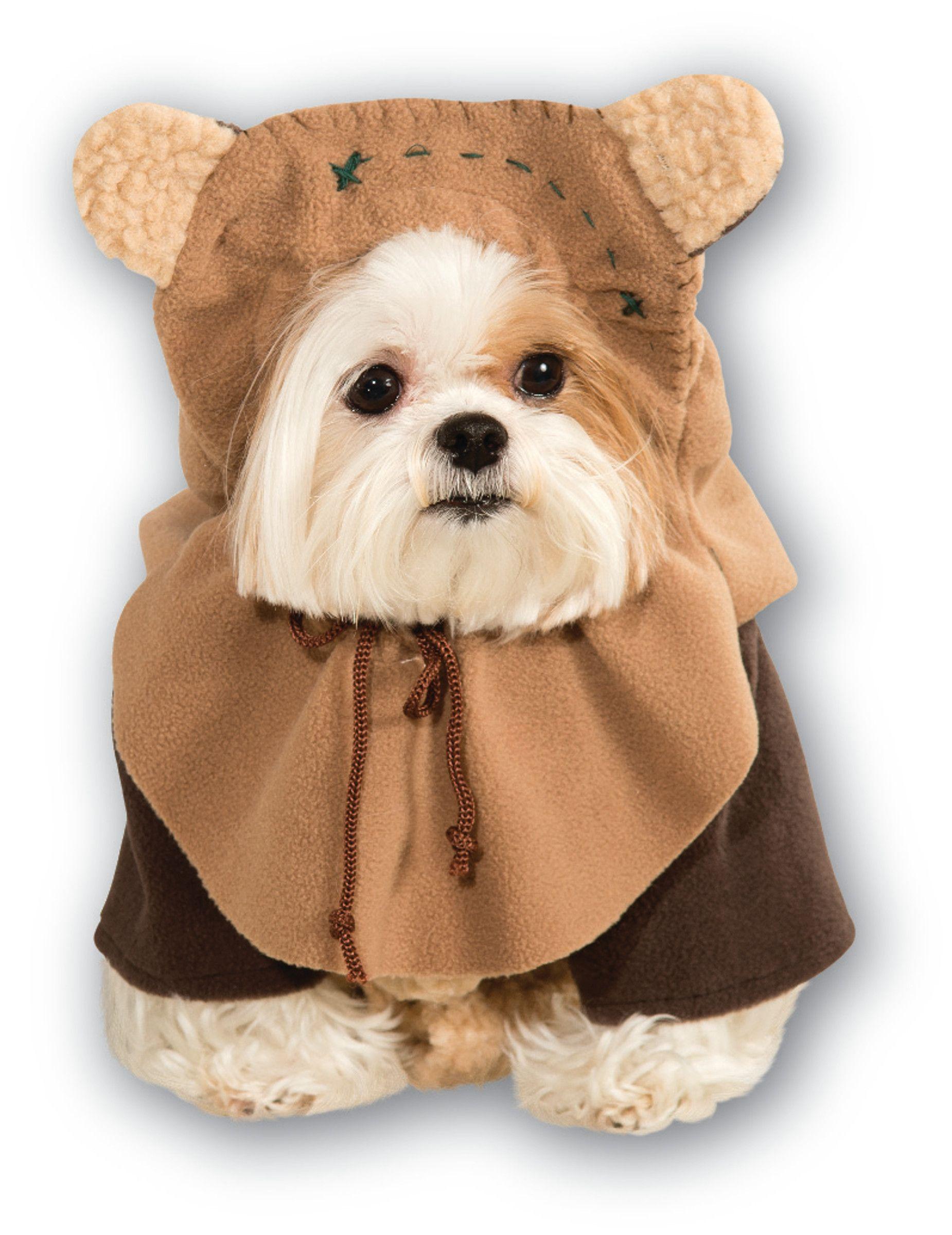 Star Wars™ Ewok™ Hundekostüm Lizenzware braun Disfraces