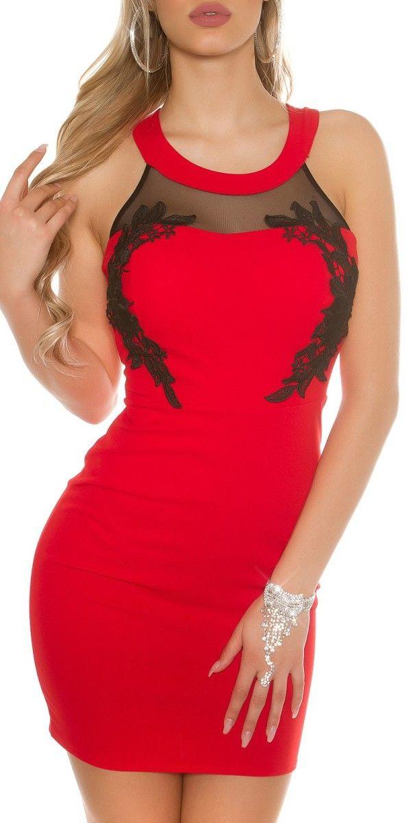Dámské společenské šaty s krajkou f6951638b51