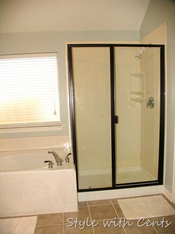 Style With Cents Shower Doors Home Trendy Bathroom