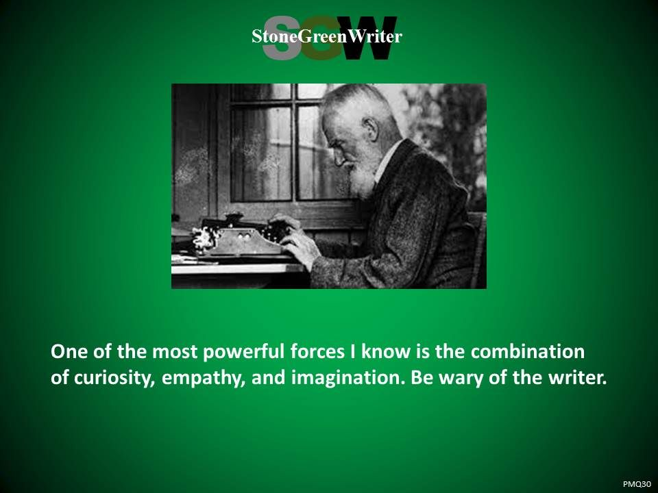 Saw this picture of George Bernard Shaw and thought...