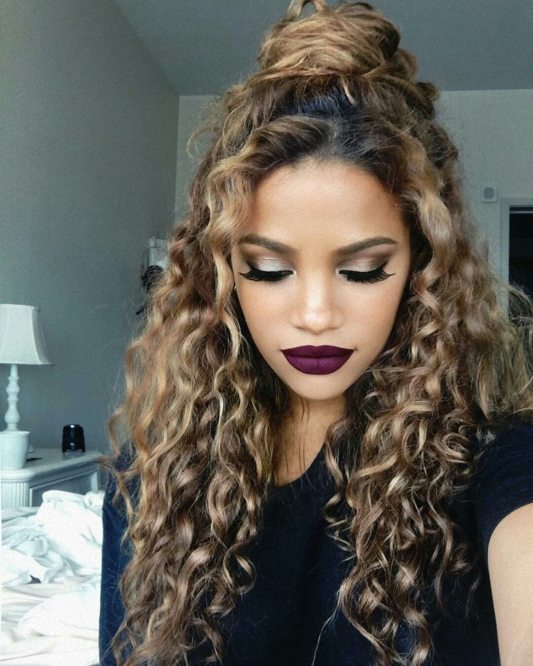 Pin by basilia on italiana pinterest makeup goals makeup and curly