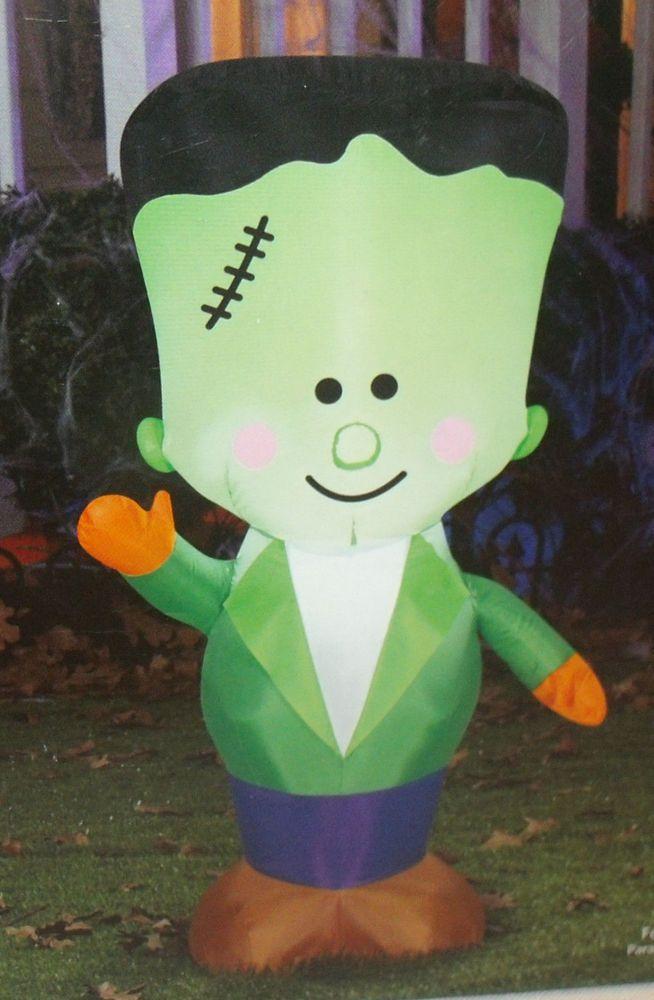 Airblown Inflatable Friendly Frank Halloween Yard Decor 35 Feet