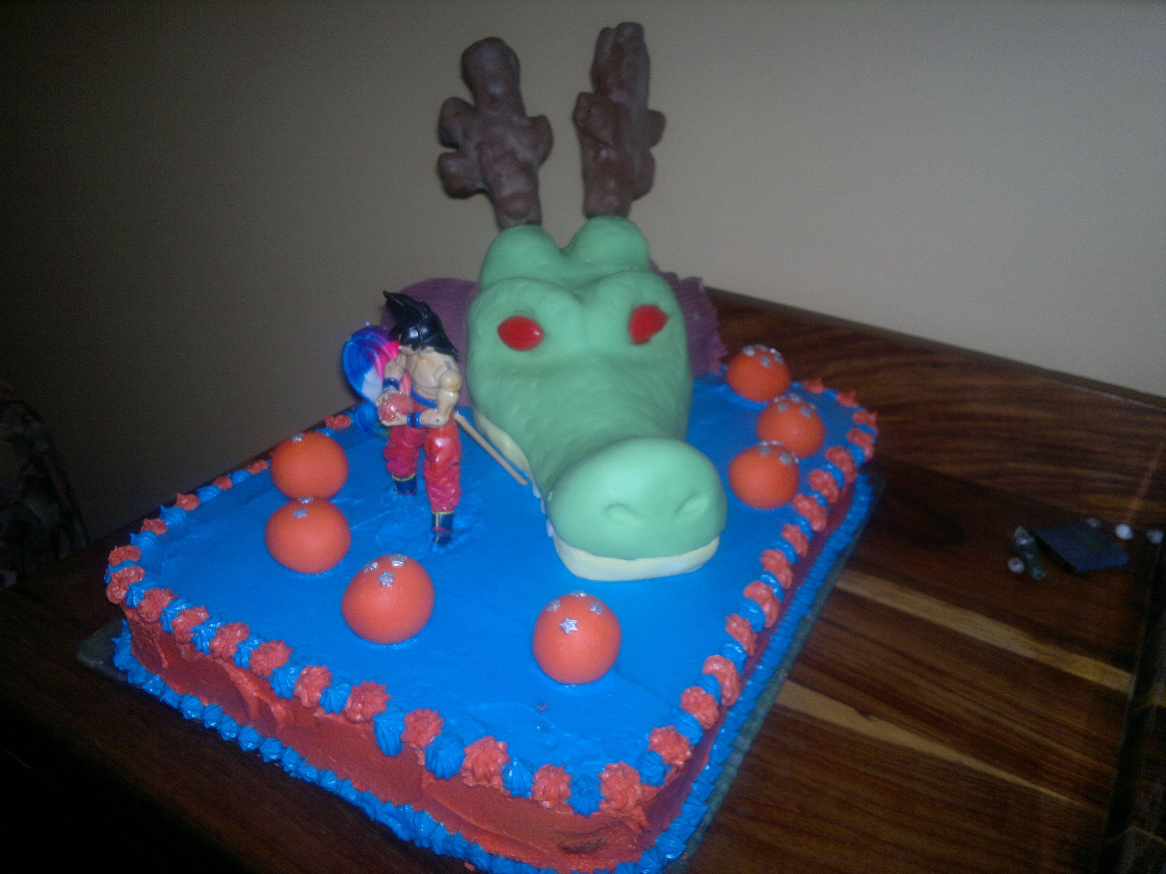 Dragon ball Z cake pokemon Pinterest