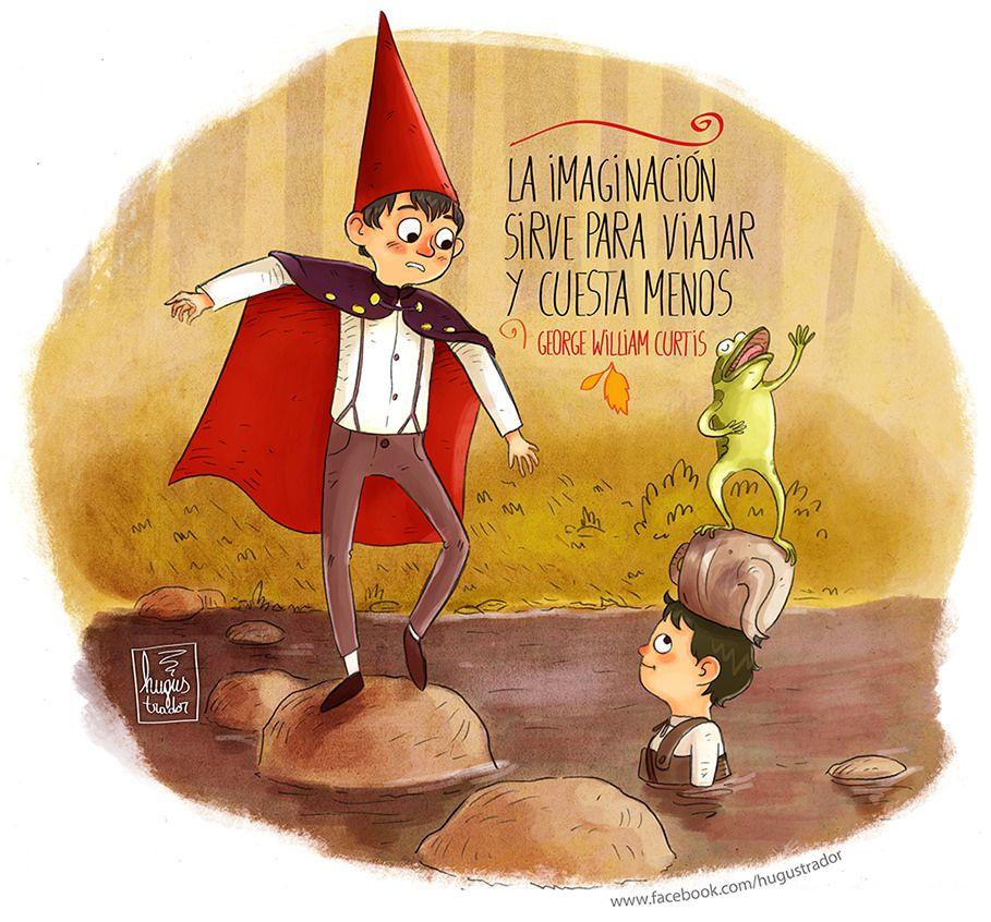 Más Allá Del Jardín By Hugustrador ( Ilustraciones Con