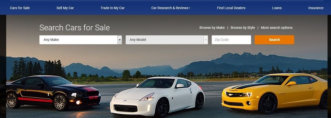 Extracting Used Cars for Sale from NADA Guides Daily New