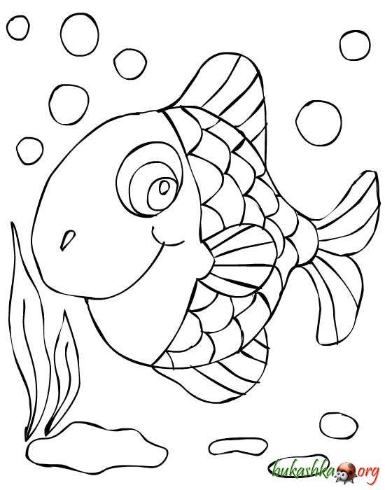 раскраска рыбка - Поиск в Google