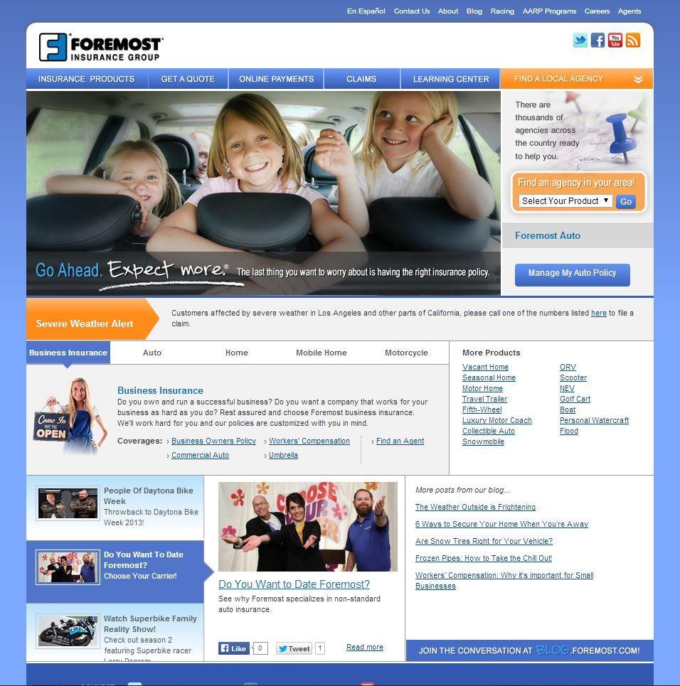 Insurance website, Best insurance