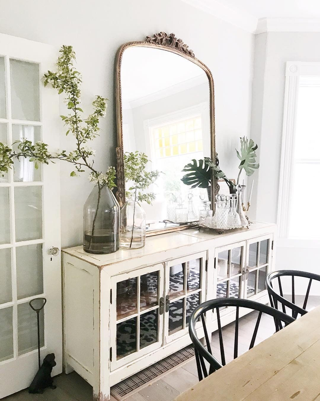 Gleaming Primrose Mirror Dining Room Buffet Decor French Country Decorating Living Room Dining Room Buffet