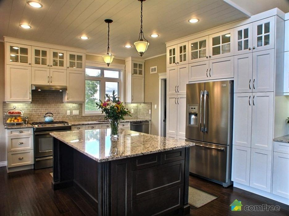 Image Result For Kitchen Cabinets 10 Ft Ceilings Home Ideas Trendy Farmhouse Kitchen Kitchen Cabinets To Ceiling Cabinets To Ceiling