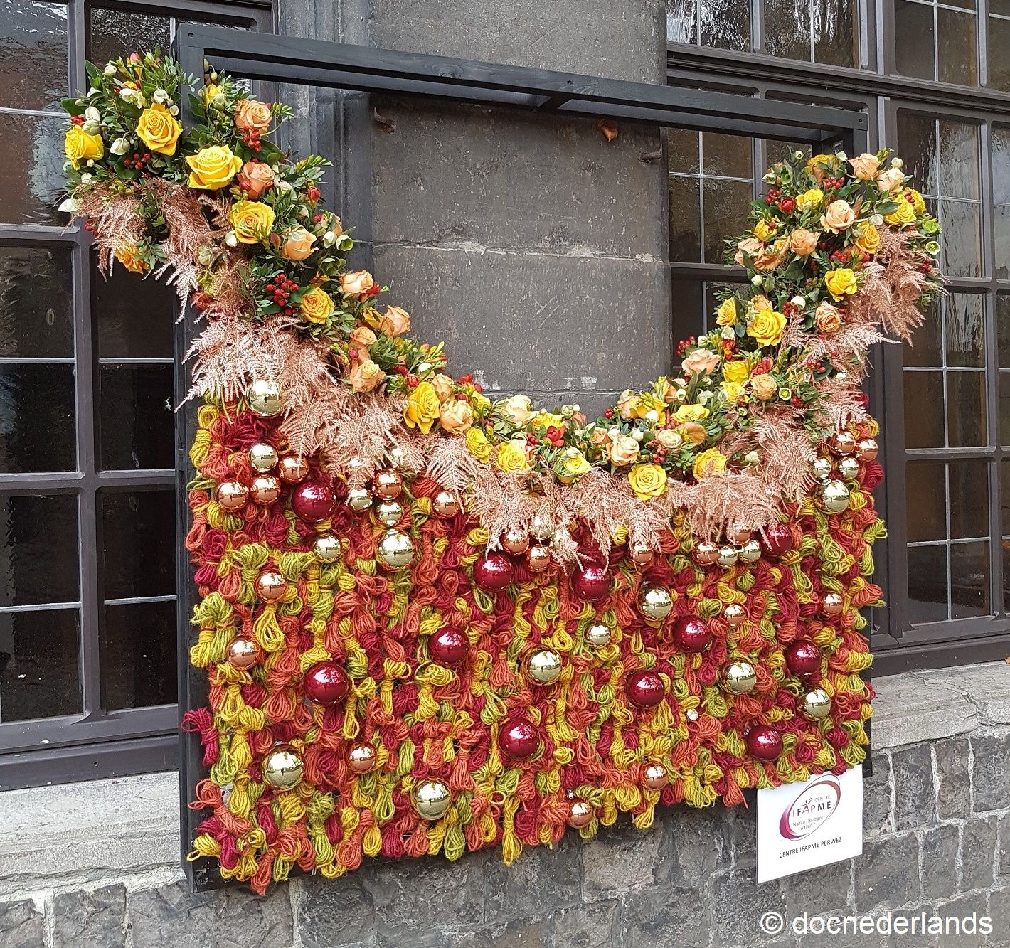 Deco De Noel Dans Le Jardin décoration de noël dans le jardin du mayeur