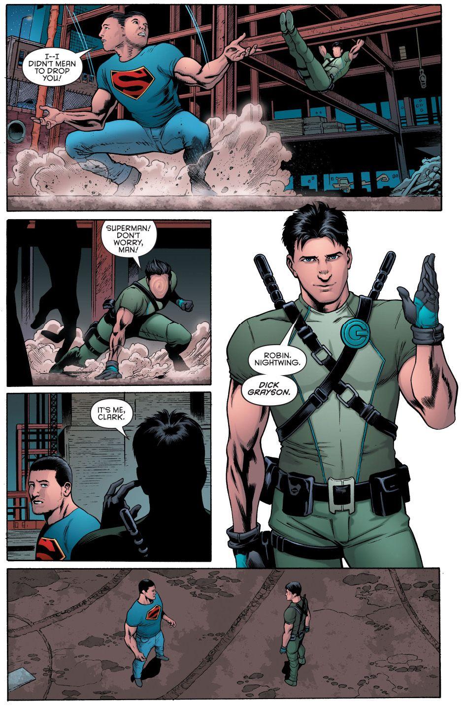Superman & Dick Grayson (Grayson #2) pt 1