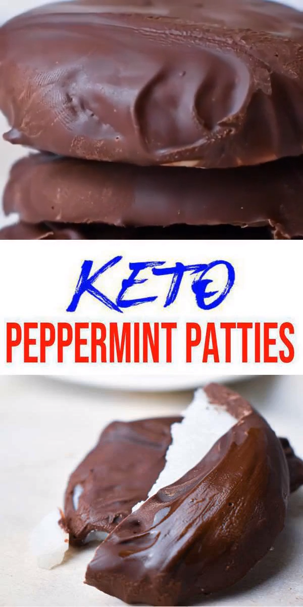 Keto Candy! BEST Low Carb Keto Peppermint Patties Idea – Quick & Easy Ketogenic Diet Recipe – Completely Keto Friendly – Gluten Free – Sugar Free