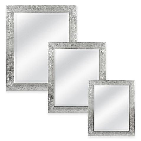 Contemporary Mirror Wall Bathroom Bath Hardware Mirror Wall