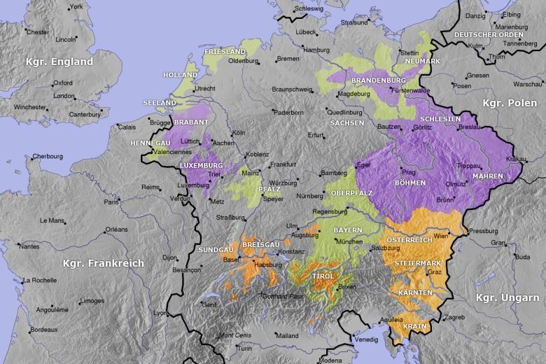 Heiliges Römisches Reich Karte.Wie Kaiser Karl Iv Wegen Der Pest Die Juden Verriet Hmmm