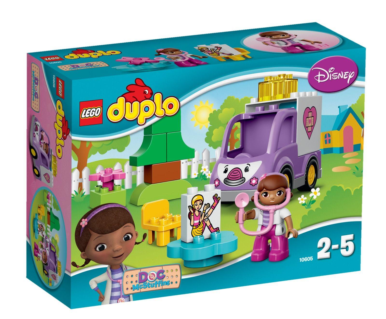 Lego Duplo Doc Mcstuffins Rosie The Ambulance 10605 Lego Duplo