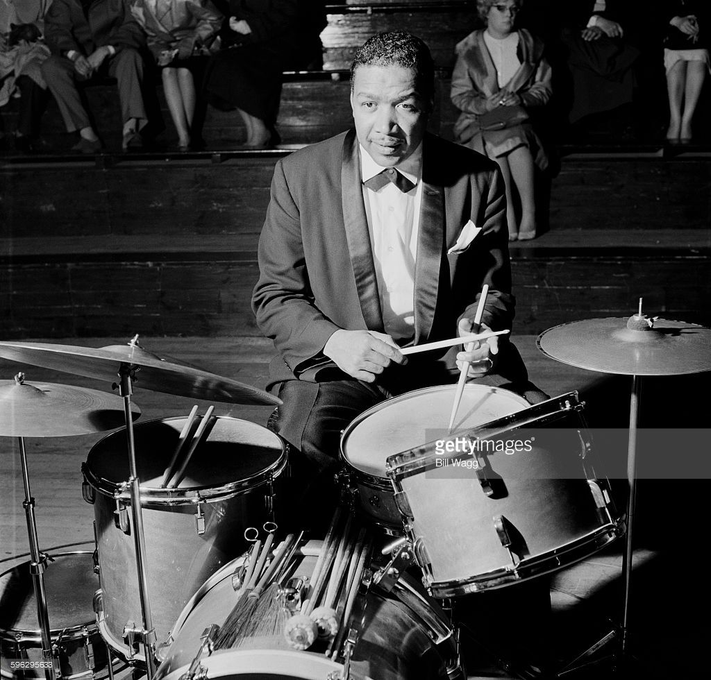 Gus Johnson (1913 - 2000), circa 1960.