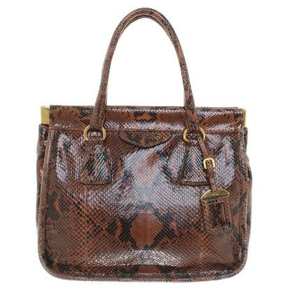 Prada Handbag Made Of Snakeskin How To Make Handbags Prada Handbags Fashion Online Shop