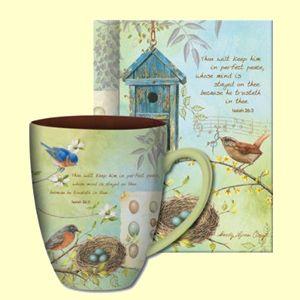 "The Shepherd's Garden ""Thou Wilt Keep Him"" Mug"