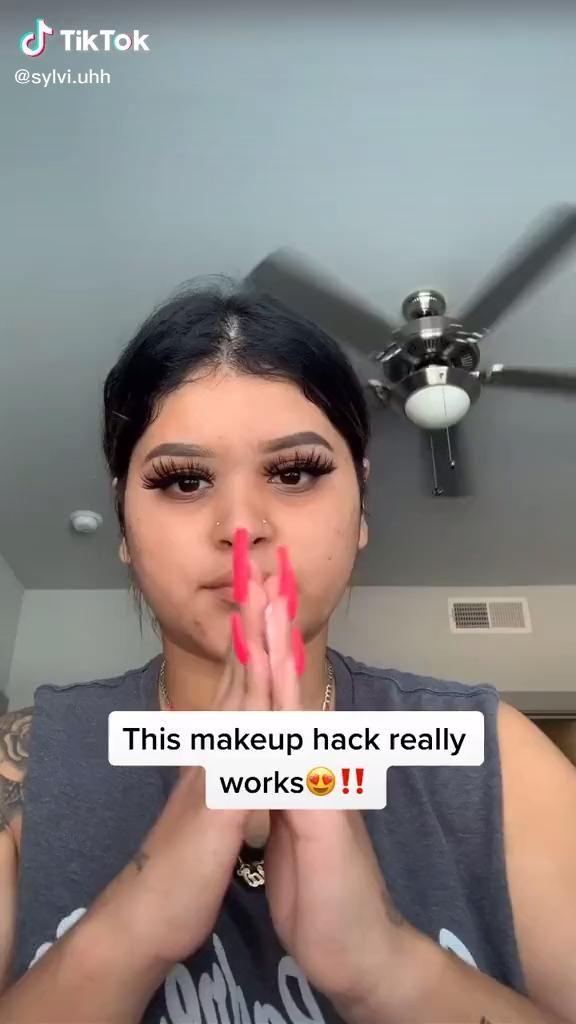 10 makeup hacks that really work -   15 beauty Makeup hacks ideas
