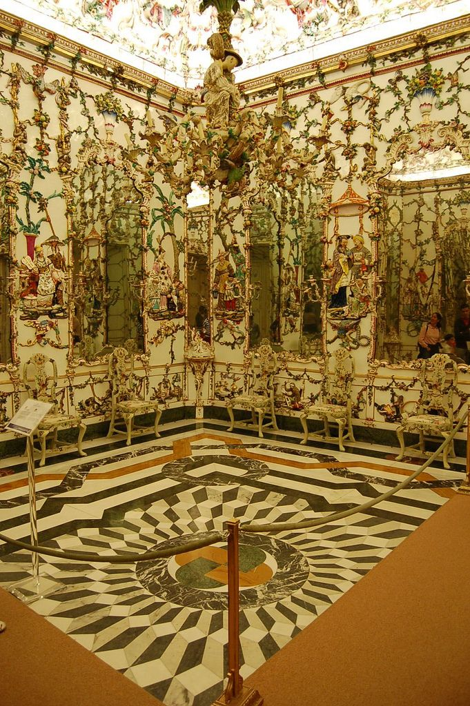 Chinese Room (Porcelain Cabinet), Palacio Real de Aranjuez, Spain ...