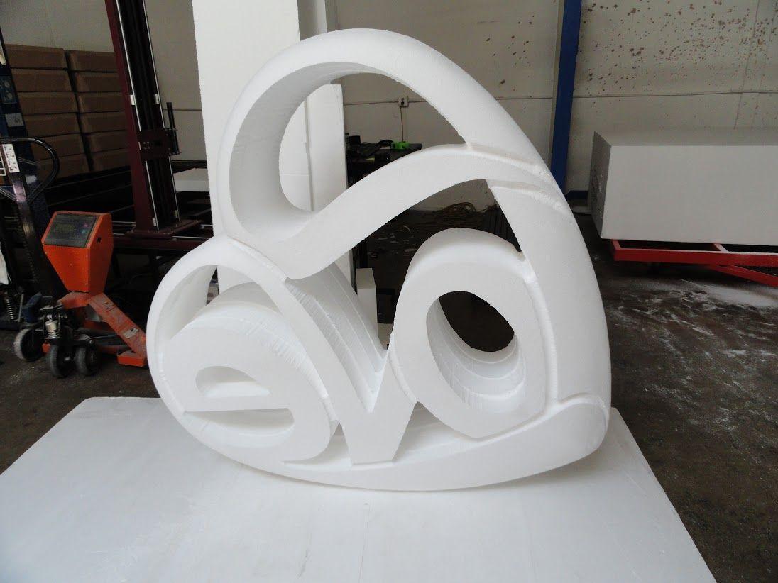 Eps sculpture wecutfoam foam props fiberglass mold