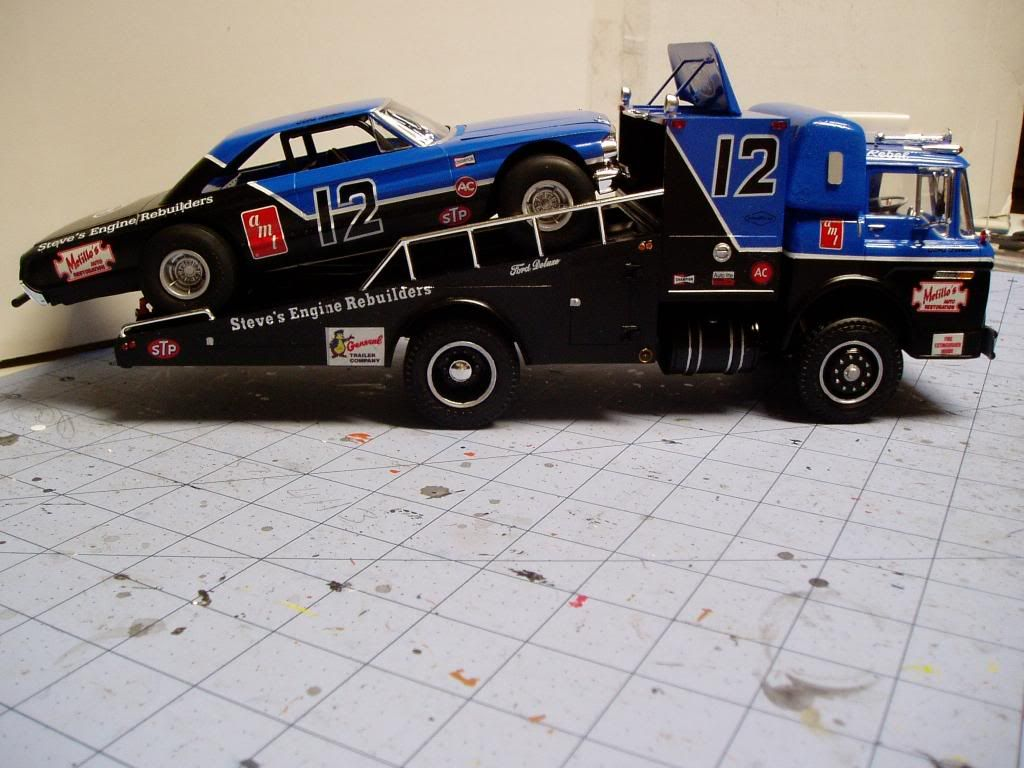 Here Is The Finished Truck And Car The Truck Was Explained In An