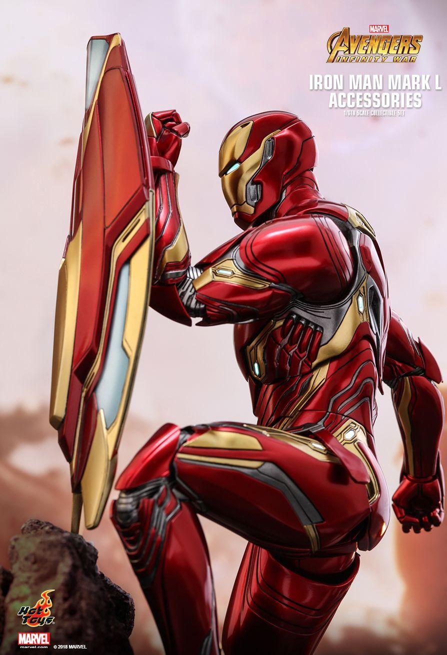 Hot Toys Avengers Infinity War Iron Man Mark L 1 6th Scale Accessories Collectible Set Iron Man Art Iron Man Marvel Iron Man