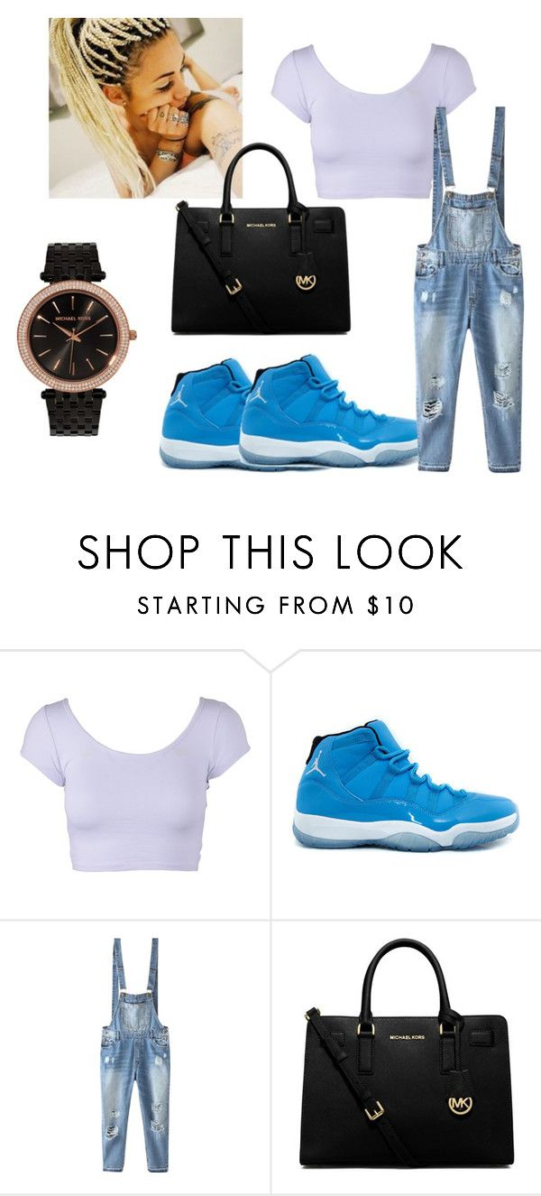 """""""Untitled #11"""" by brazzzy ❤ liked on Polyvore featuring NIKE, Relaxfeel, MICHAEL Michael Kors and Michael Kors"""