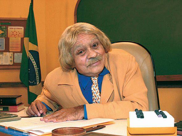 Professor Raimundo, um dos personagens mais famosos de Chico Anysio