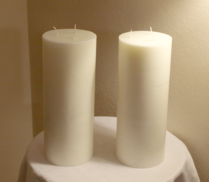 Six Inch Diameter Candle You Select Height Candles Giant Candles Big Candles