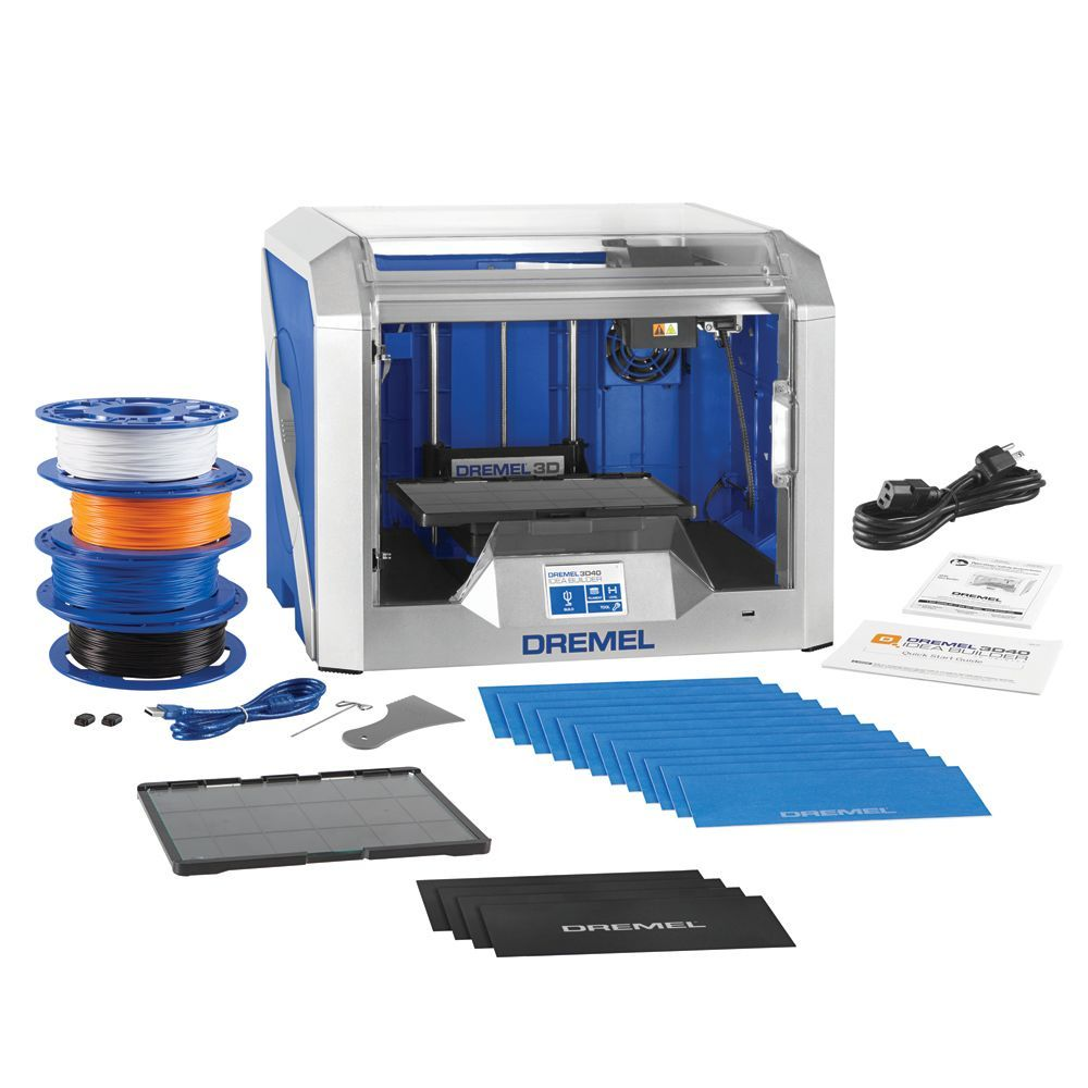 Digilab 3d40 Idea Builder Wifi 3d Printer With Starter Kit In 2020 Education Accessories Dremel 3d Printer Dremel