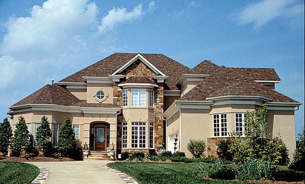 House Plan 85503 | Traditional    Plan with 3757 Sq. Ft., 4 Bedrooms, 4 Bathrooms, 2 Car Garage