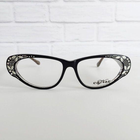 Caviar 5592 024 vintage eyeglasses Caviar black by CircaEyewear ...