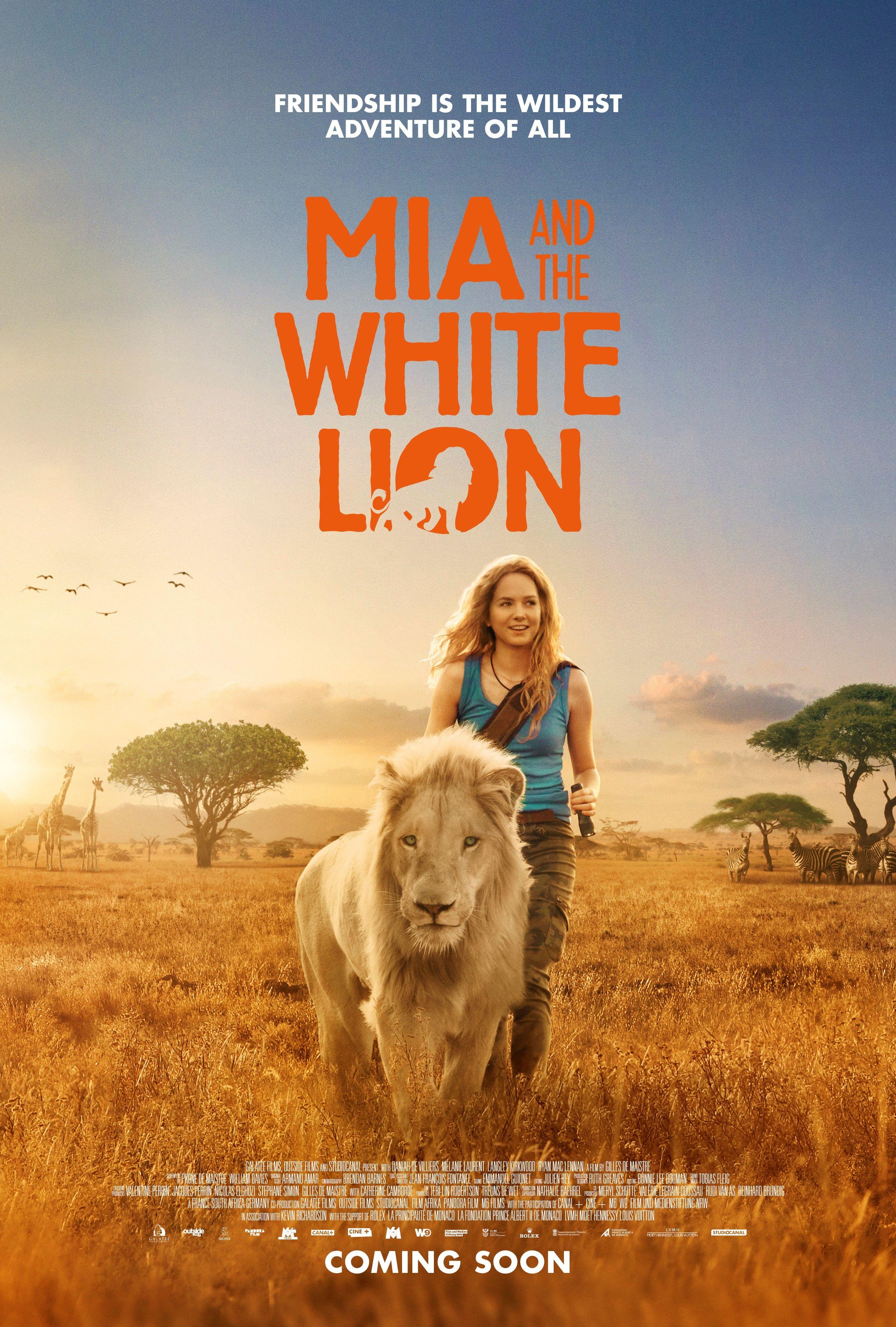 Mia And The White Lion 2018 1080p Bluray Mp4 X264 مترجم Lion Movie White Lion Lion Full Movie