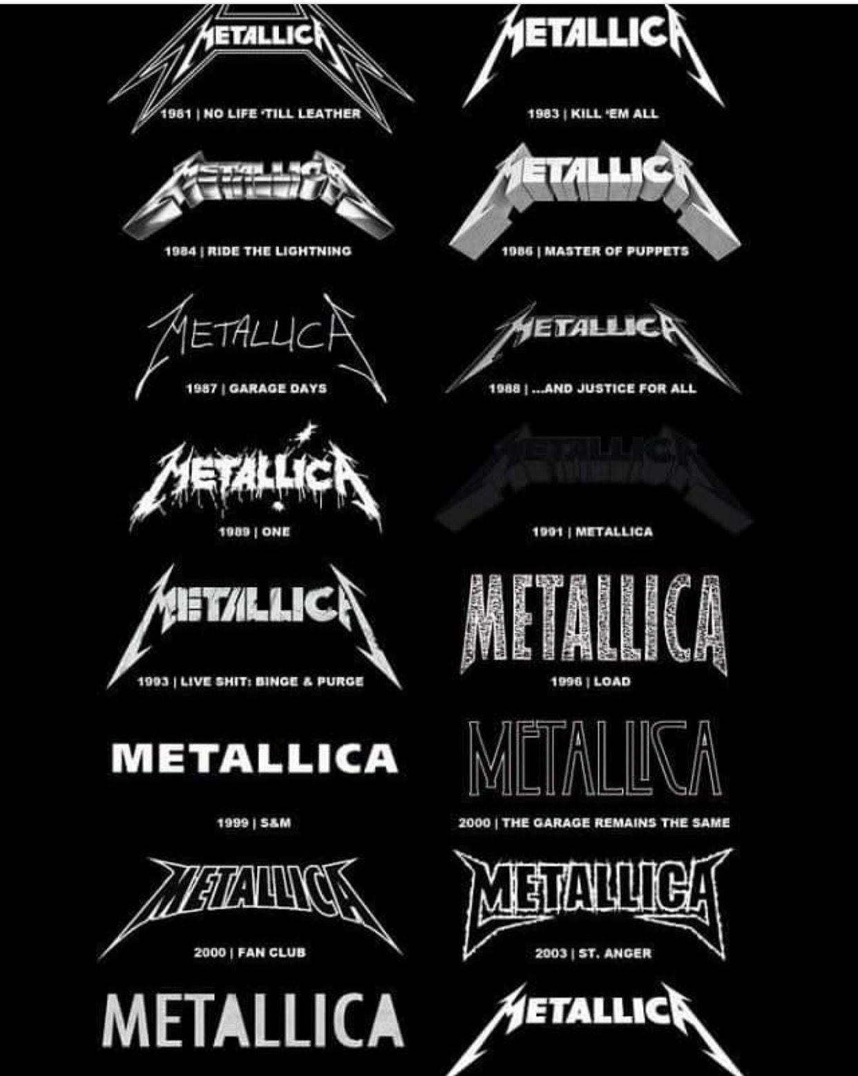 Metallica history