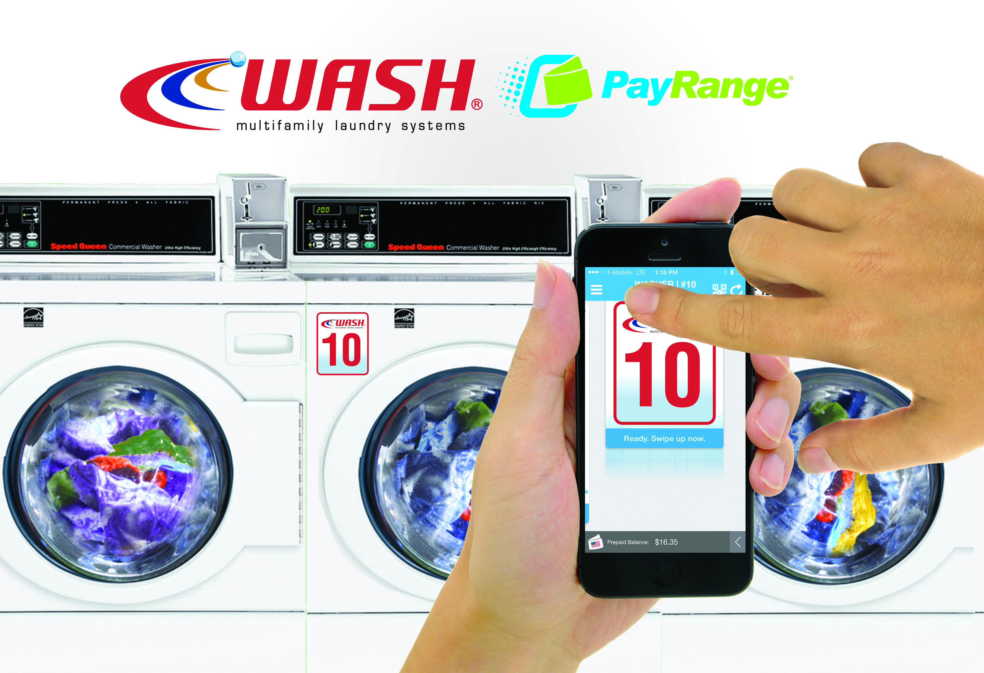 Wash Upgrades Common Area Laundry Rooms With Payrange Mobile