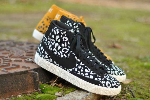 free delivery reasonable price sneakers Nike Blazer Leopard Jaune & Noir - Disponibles - Sneakers.fr ...