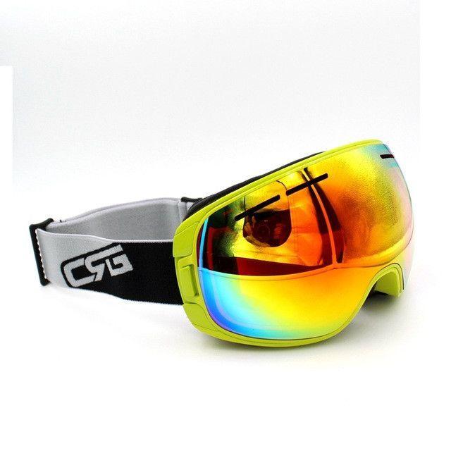 97001a13f49 New Arrive 4 Styles New Brand Ski Goggles UV400 Anti-Fog Eyewear Mask  Glasses Skiing Men Women Snow Snowboard Goggles
