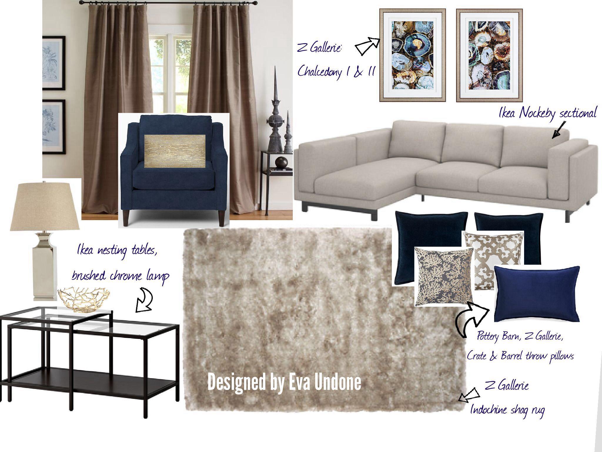 Ikea Nockeby Sofa Traum Naturtöne kombiniert mit etwas Gold und