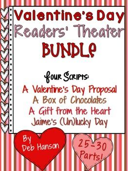 valentine's day readers' theater | readers theater, school and, Ideas