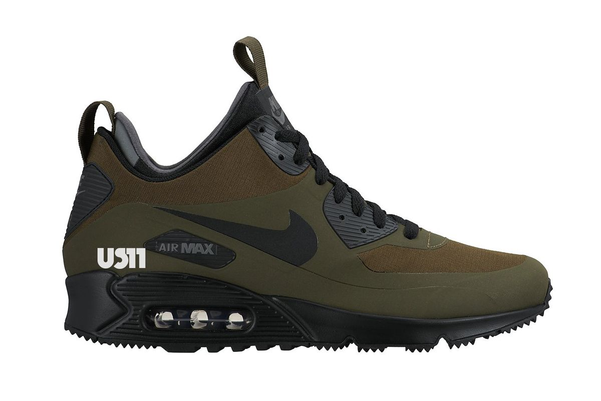 409e33fb0e2 Nike Air Max 90 Mid SneakerBoot (Autumn/Winter 2015) Preview Part II ...