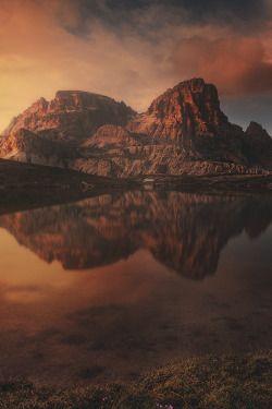 captvinvanity:    Dolomitic Red Passion   | Photographer | CV