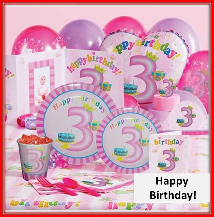 Wholesale birthday party supplies basic sets for 6 children ...