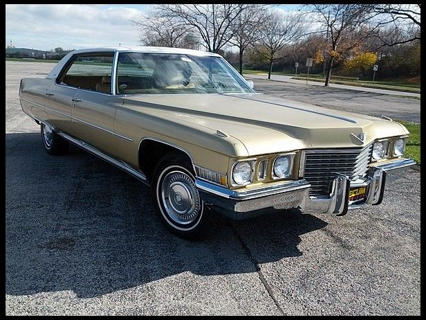 1972 Cadillac Sedan Deville for sale by Me Auction | american ...