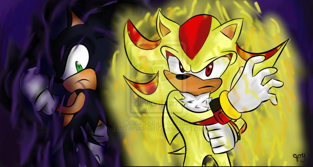 Images of Dark Sonic Vs Shadow - #rock-cafe