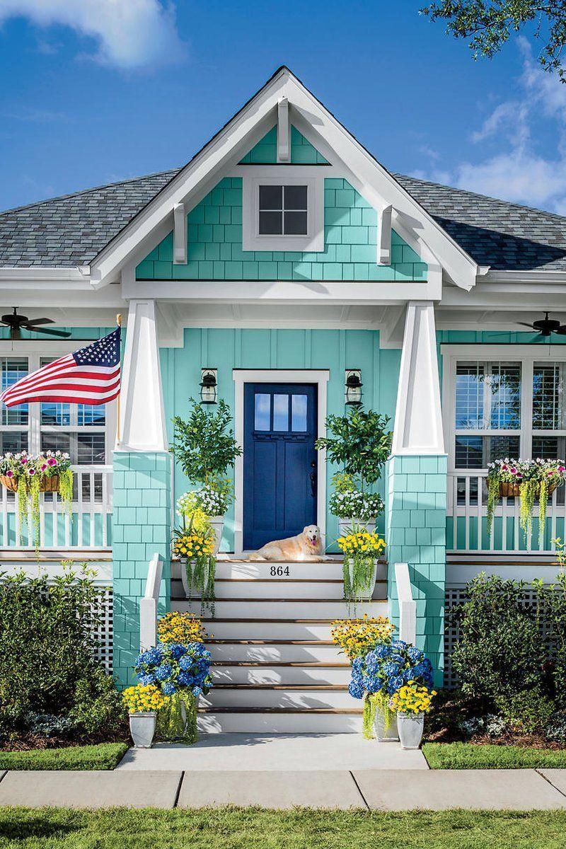 10 Secrets Of Curb Appeal Beach House Exterior Beach House