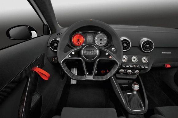 Audi A1 Clubsport Quattro Cockpit Audi A1