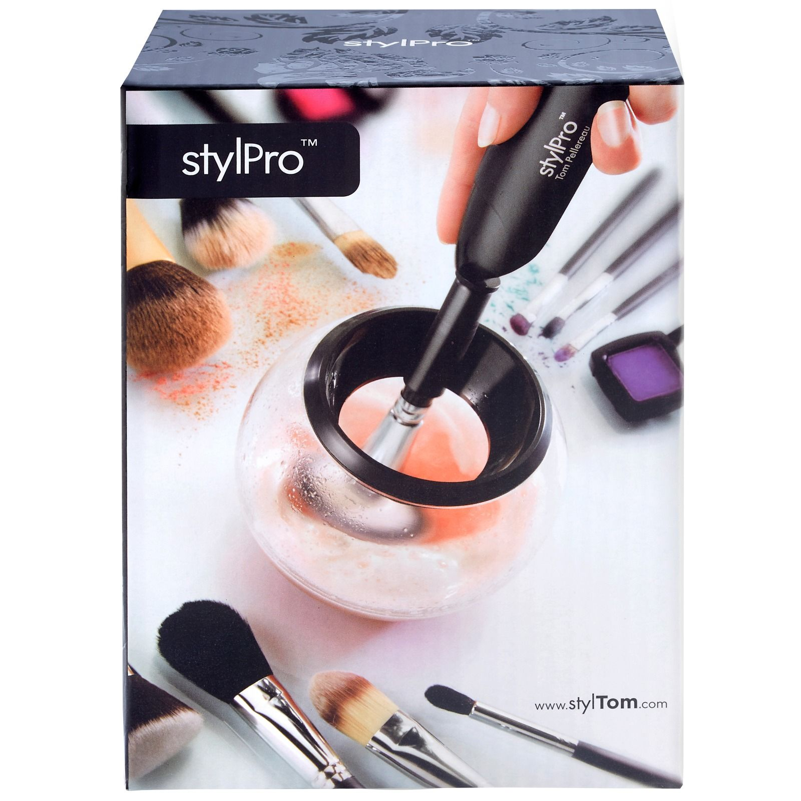 StylPro StylPro Makeup Brush Cleaner & Dryer With 2